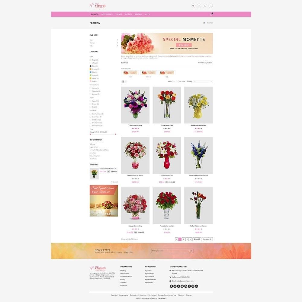 theme - Geschenke, Blumen & Feiern - Flower Store - 6