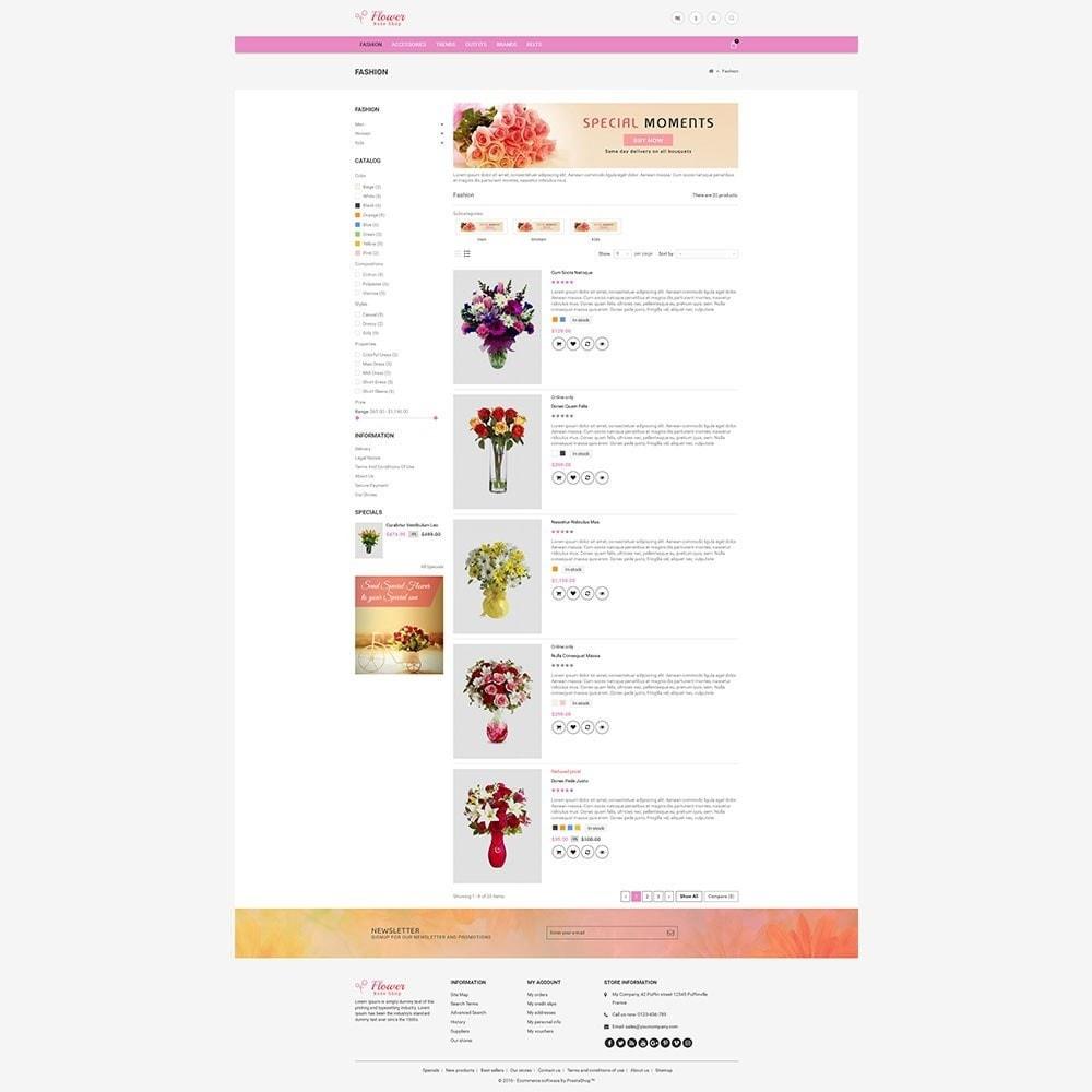 theme - Cadeaux, Fleurs et Fêtes - Flower Store - 7