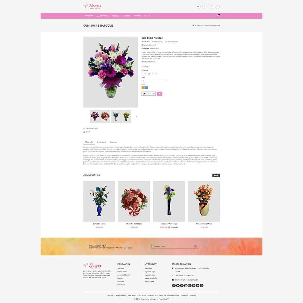 theme - Подарки, Цветы и праздничные товары - Flower Store - 8