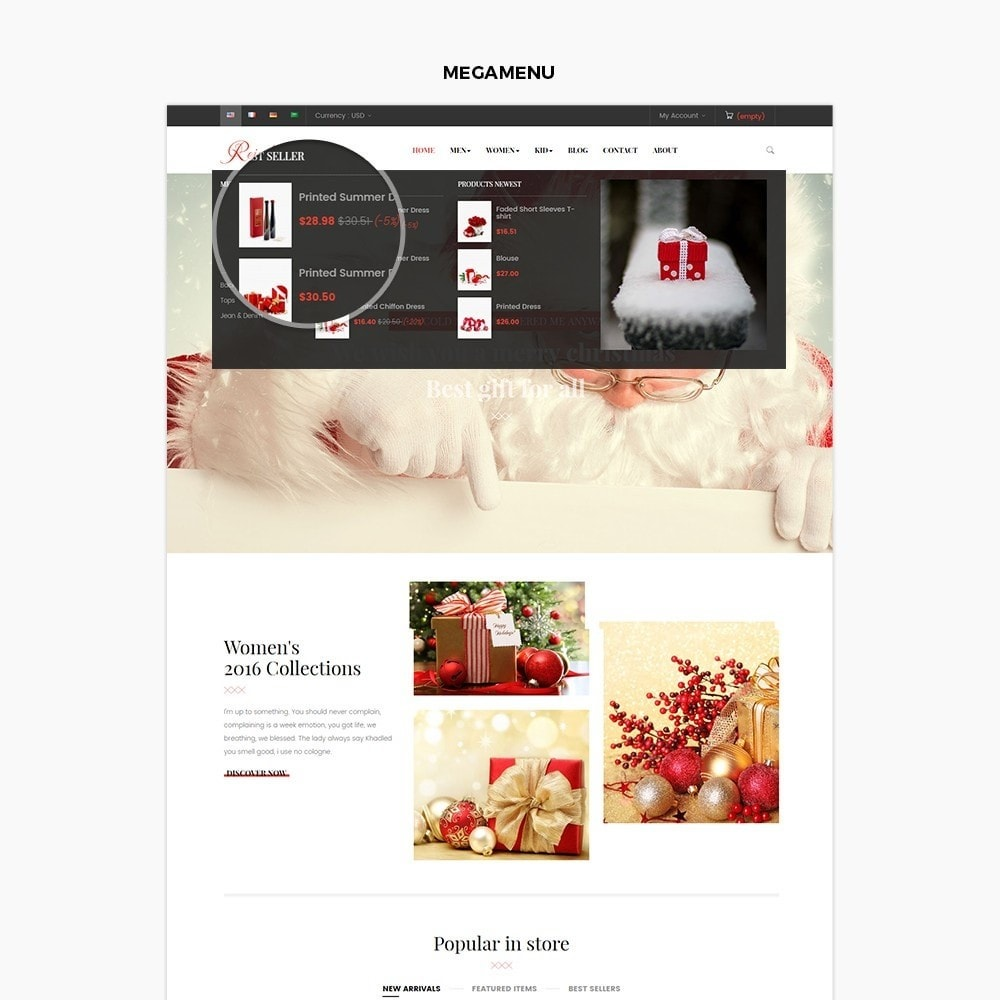 theme - Gifts, Flowers & Celebrations - Leo Reindeer - 4
