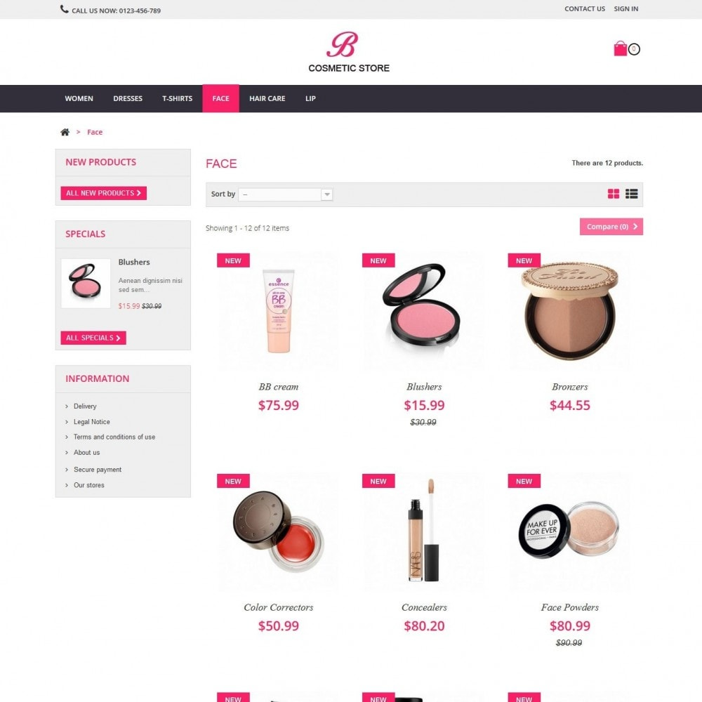 theme - Salute & Bellezza - beauty cosmetics - 6