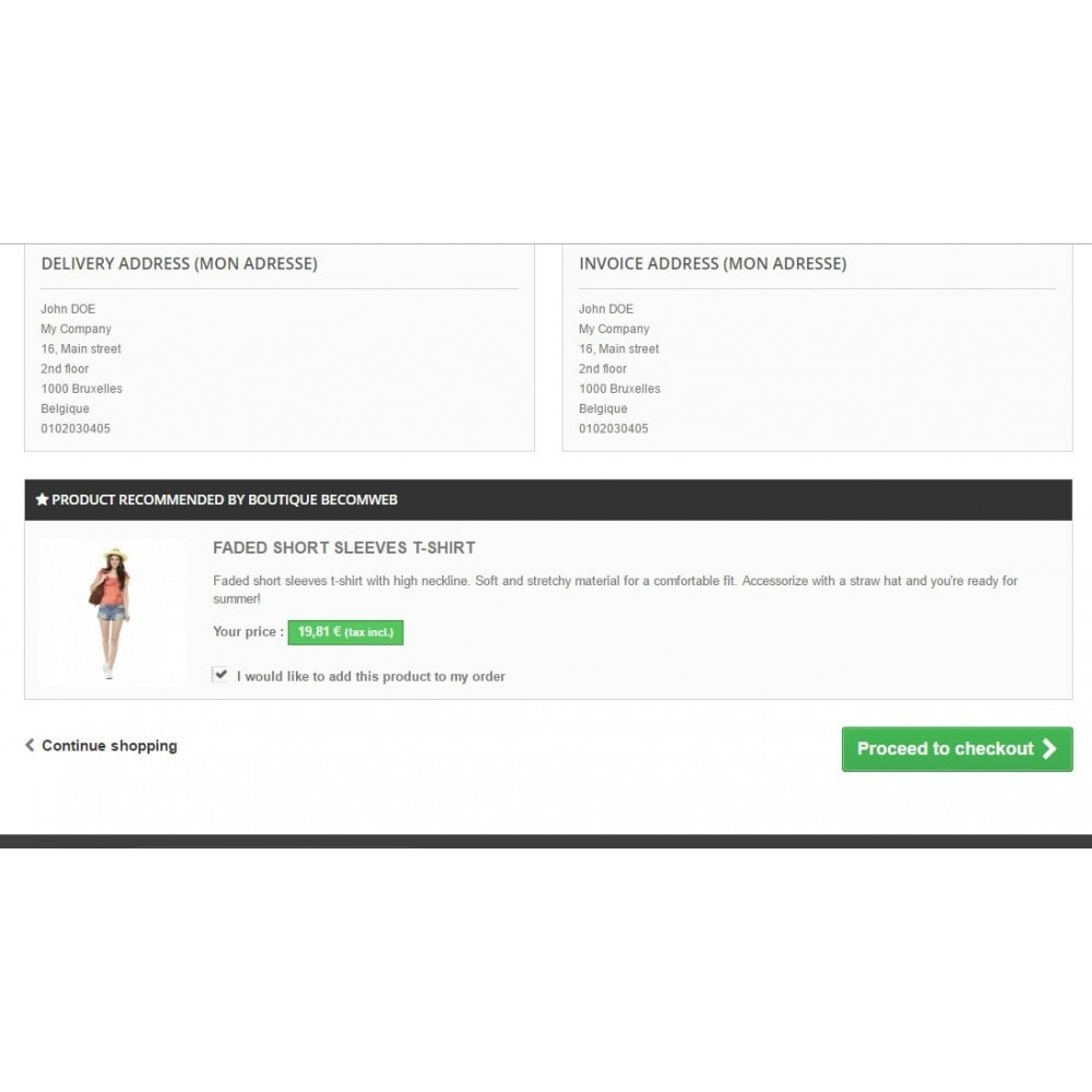 module - Registration & Ordering Process - Add to cart checkbox - 1