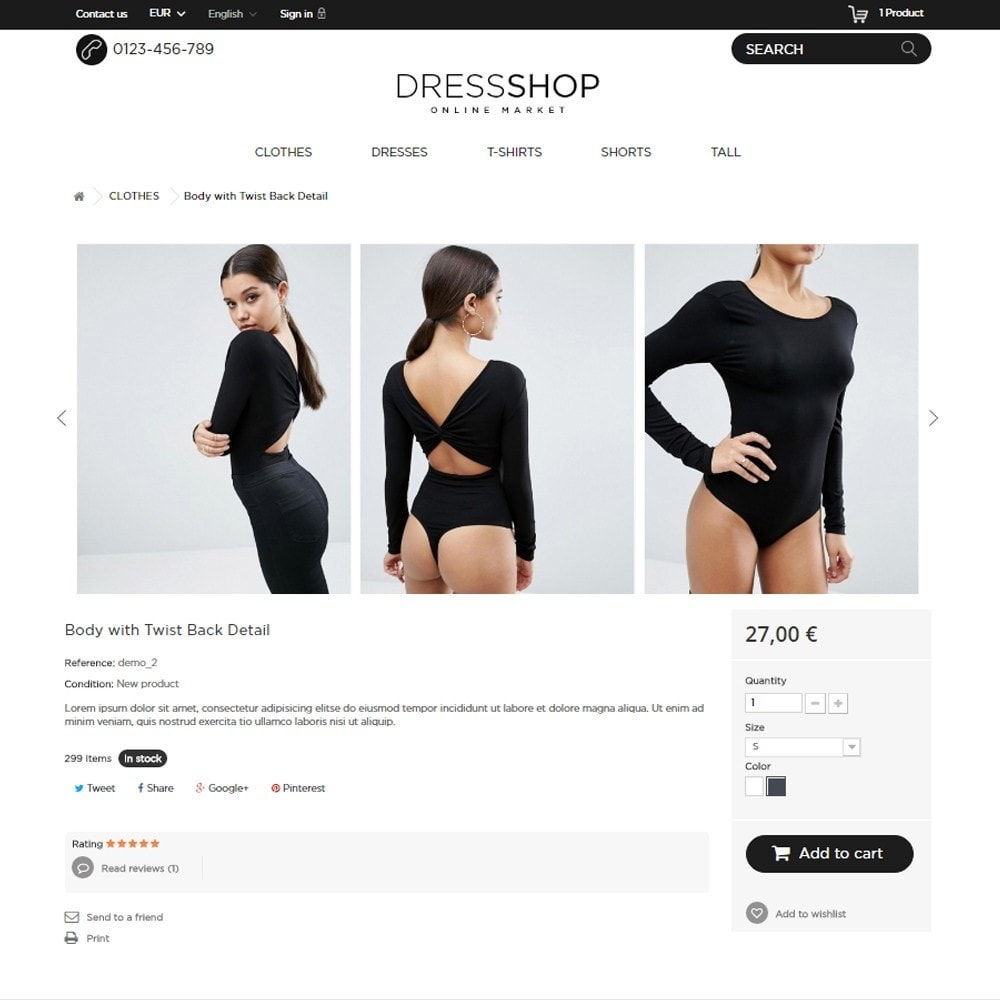 theme - Moda & Calzature - DressShop - 7