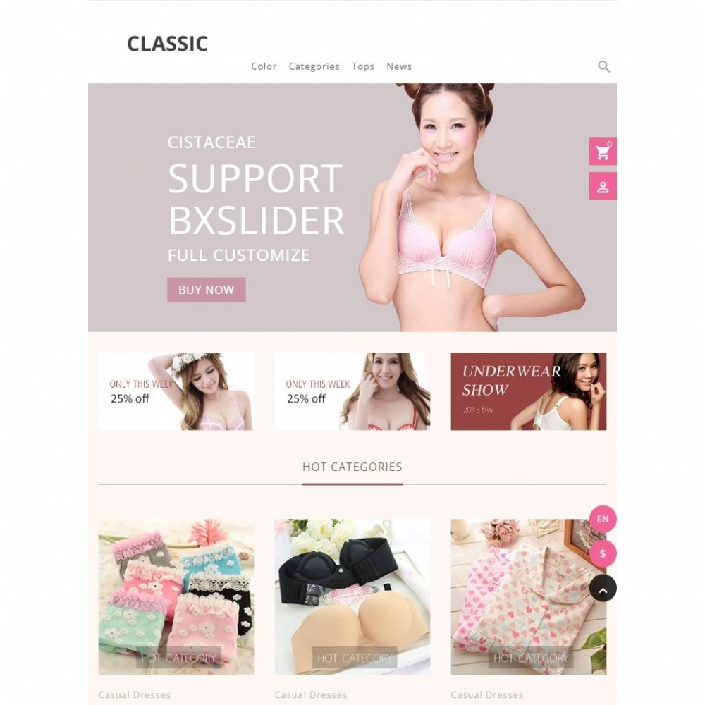 theme - Fashion & Shoes - Cistaceae Fashion Store - 6
