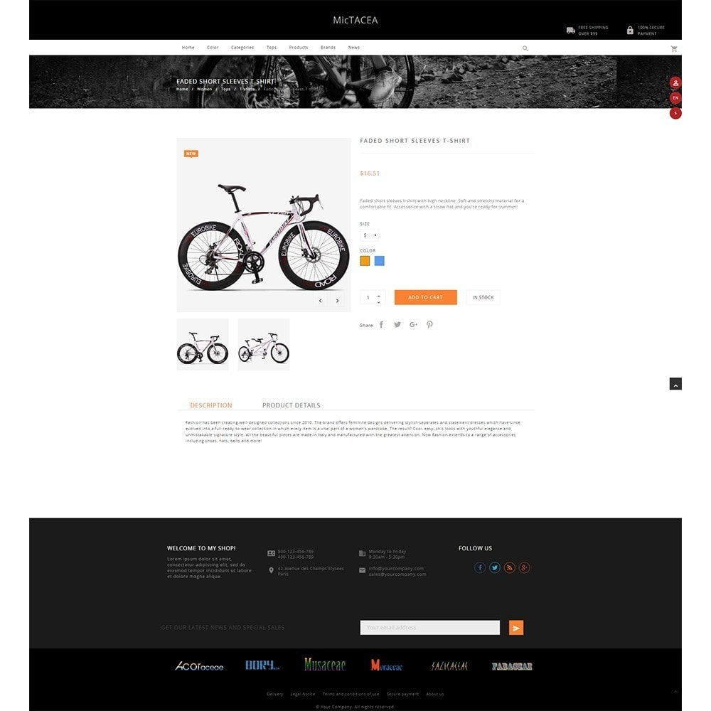 theme - Sports, Activities & Travel - Mictacea Mountain Bike Store - 4