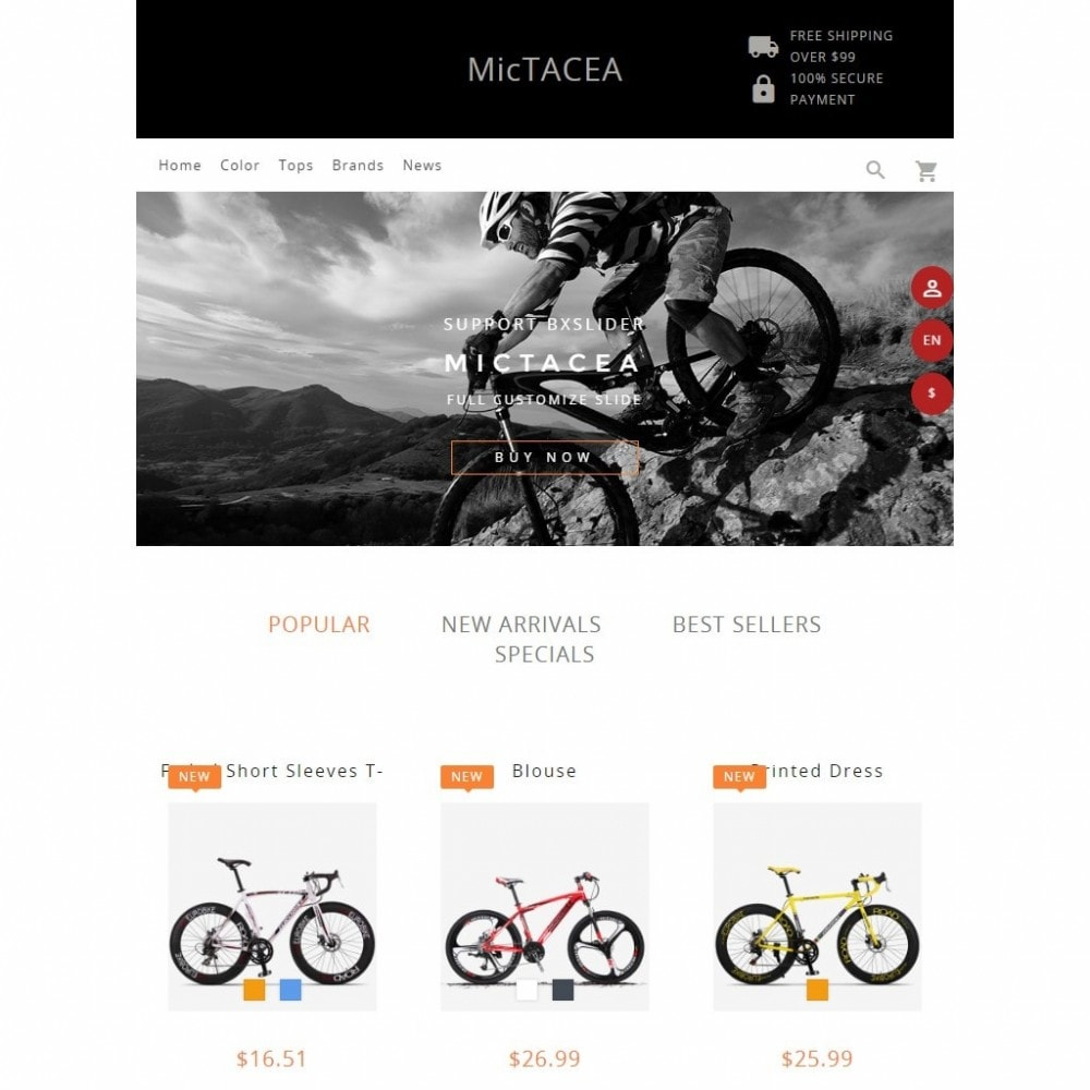 theme - Sports, Activities & Travel - Mictacea Mountain Bike Store - 5