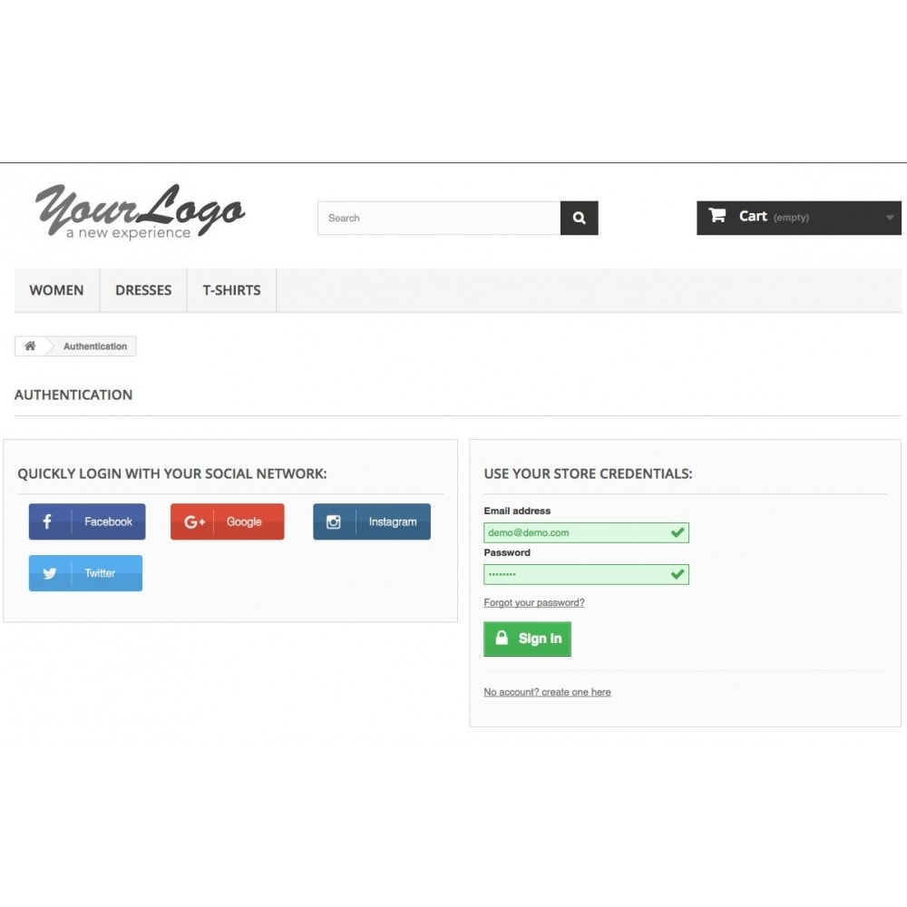 module - Login & Verbinden - Social Login Connect - 4