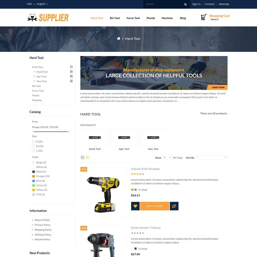 theme - Automotive & Cars - Supplier Tools Store - 4