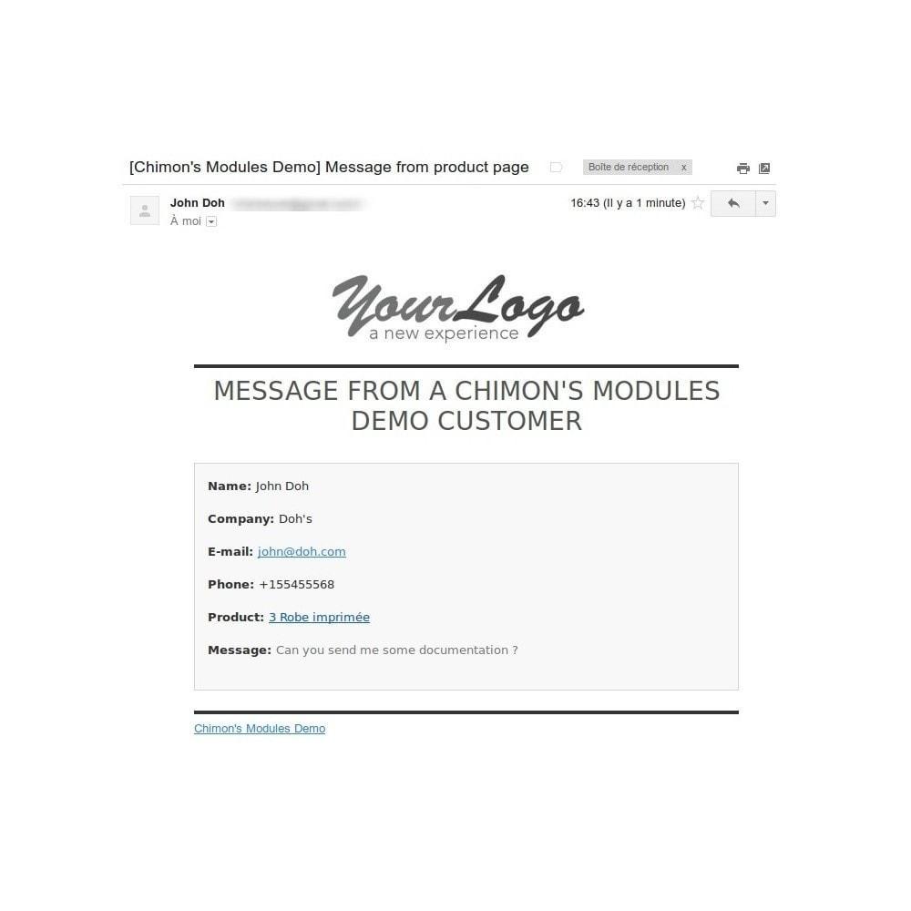 module - Formulaires de Contact & Sondages - ContactBox - formulaire de contact personnalisable - 6
