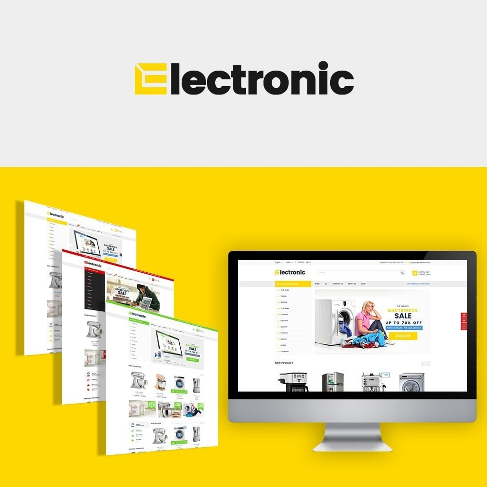 theme - Eletrônicos & High Tech - Electronic - Gadgets & Digital - 1