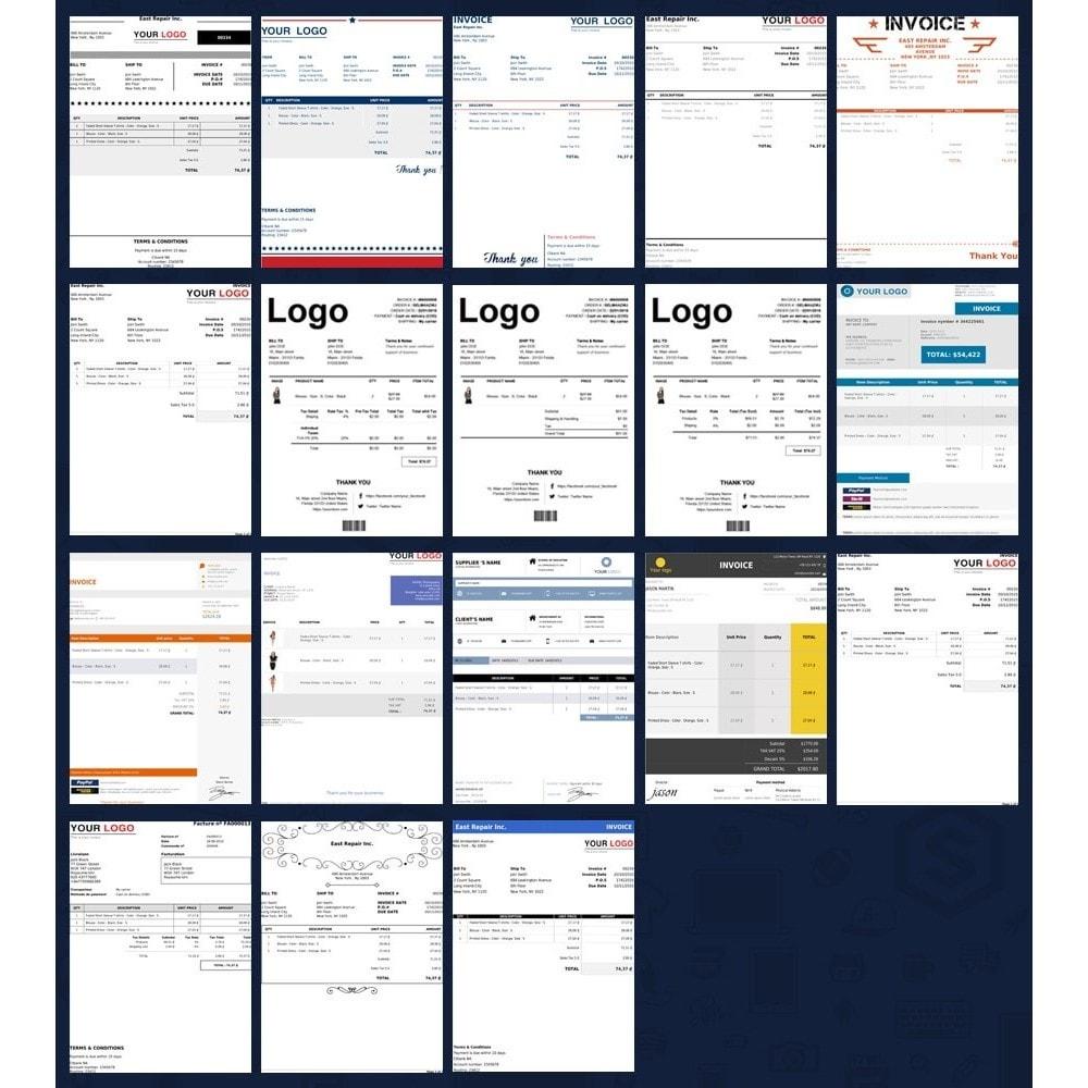 erweiterte rechnung lieferung pdf template builder prestashop addons. Black Bedroom Furniture Sets. Home Design Ideas