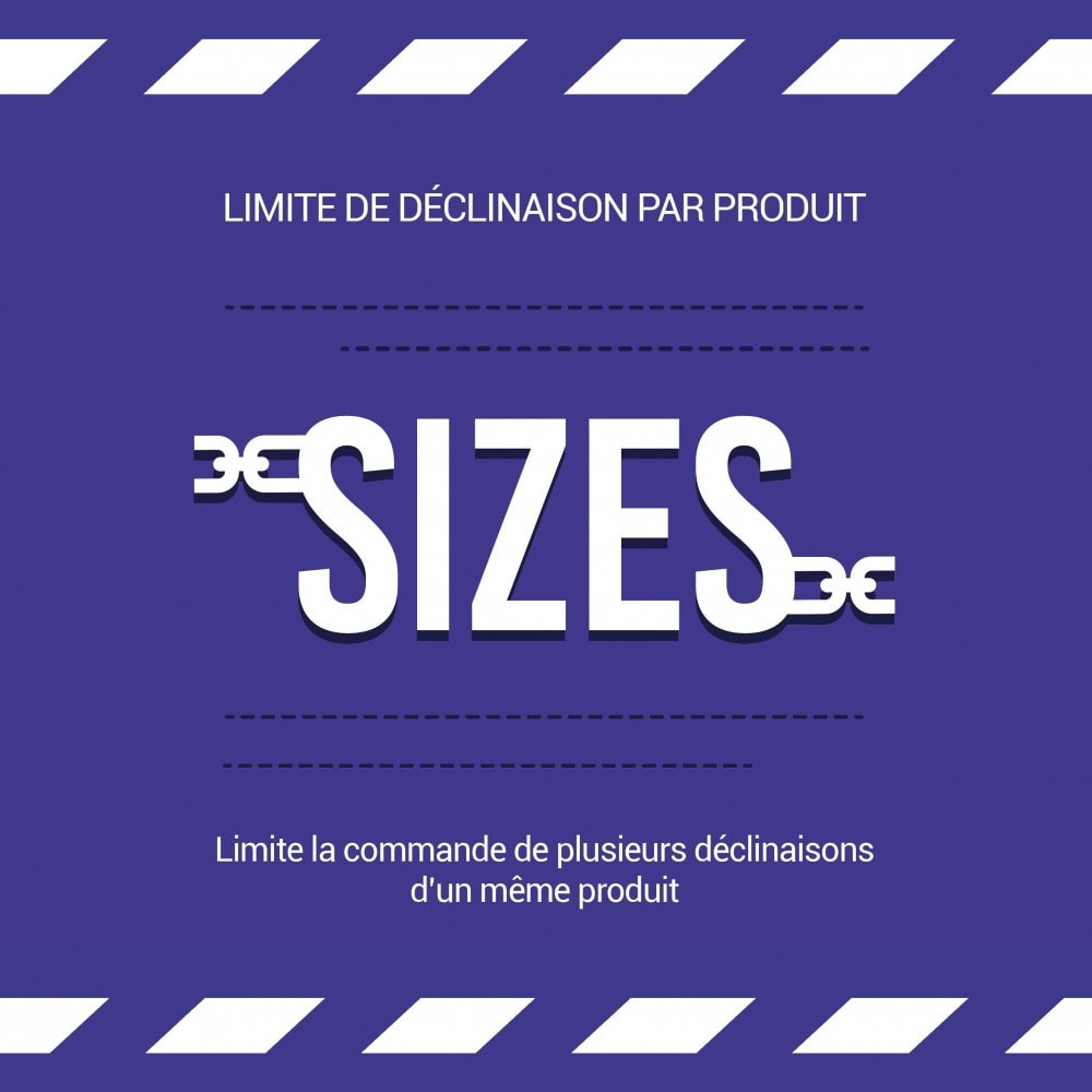 module - Déclinaisons & Personnalisation de produits - Limiter la quantité d'un produit par panier - 1