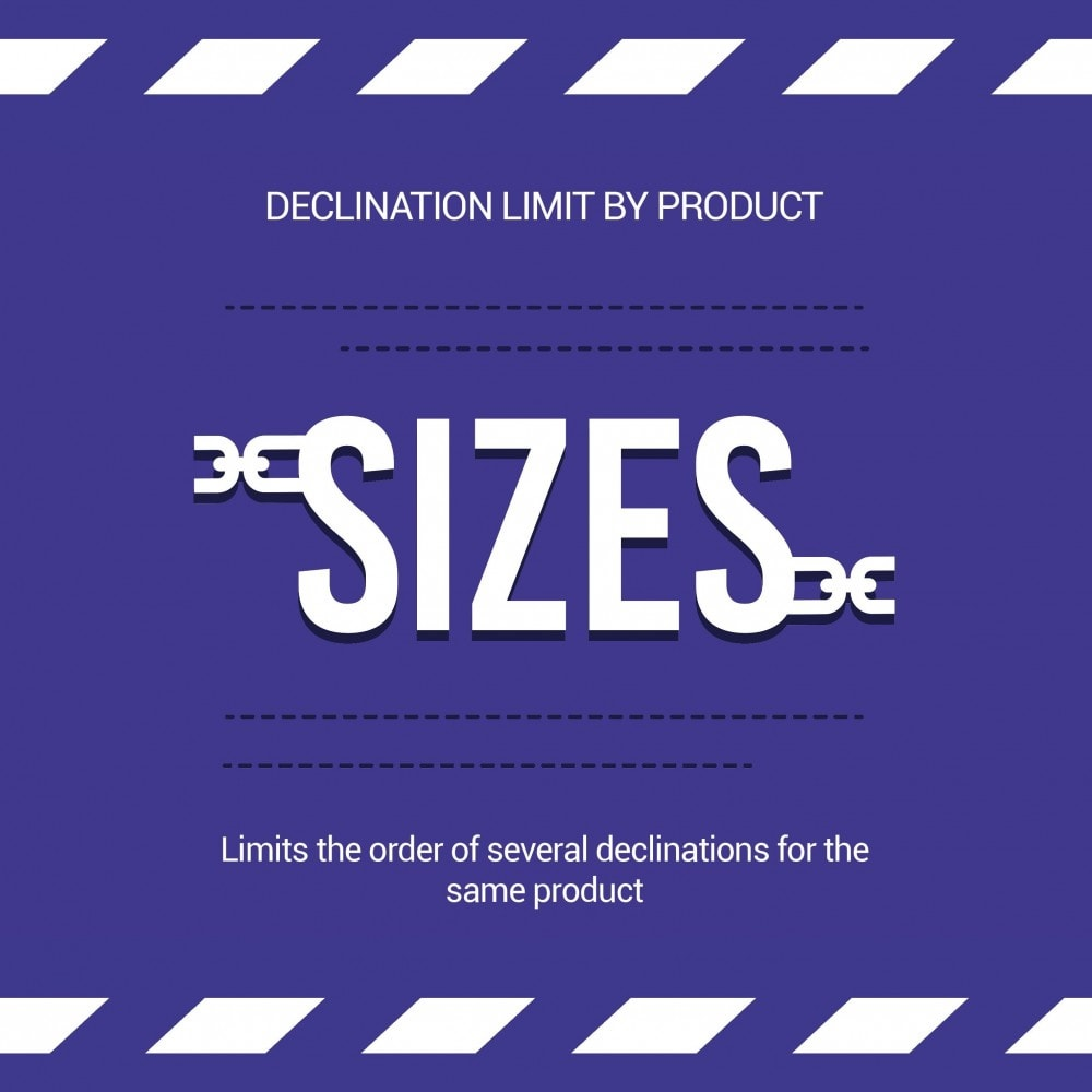 module - Вариаций и персонализации товаров - Limit the quantity of a product/declination per basket - 1