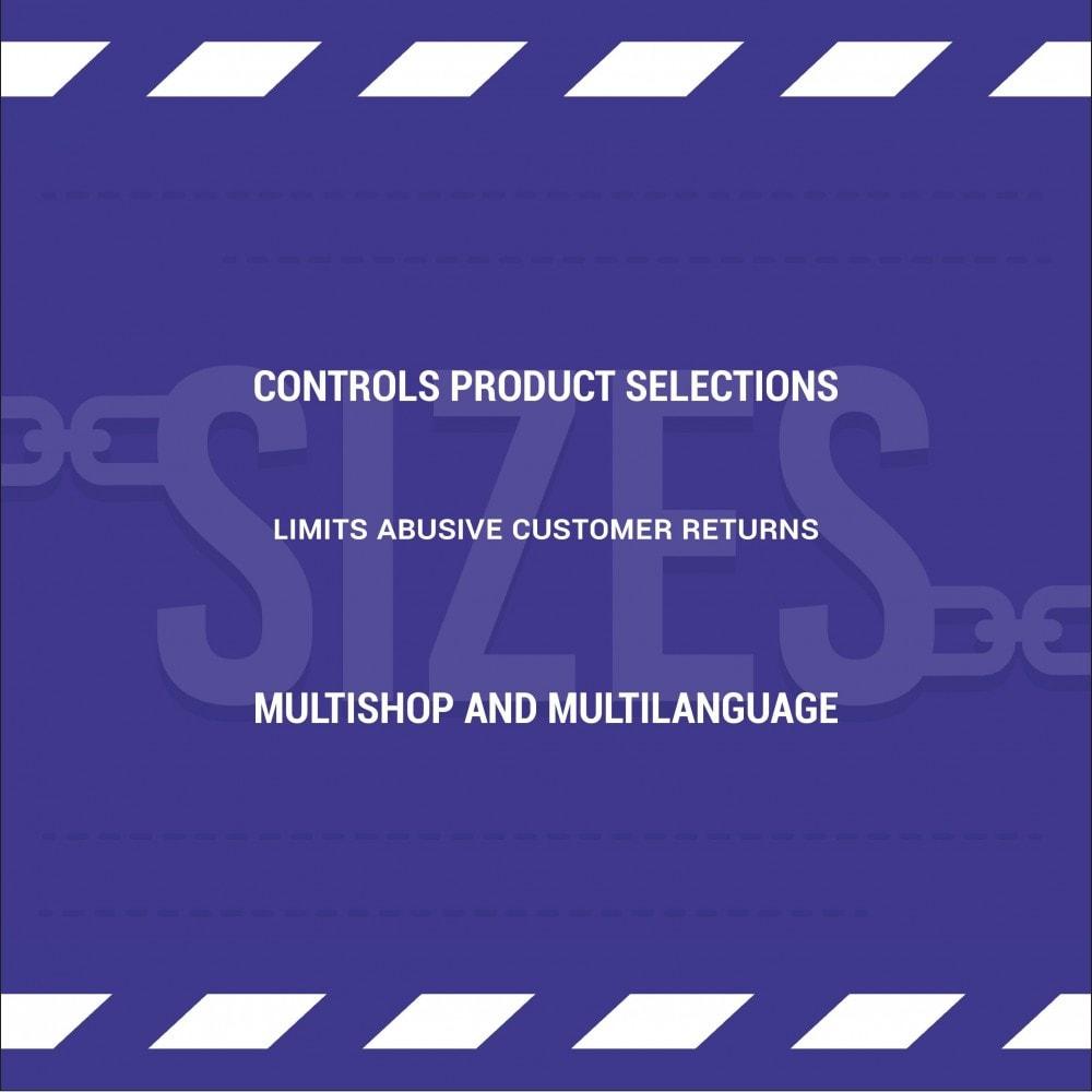 module - Versies & Personalisering van producten - Limit the quantity of a product/declination per basket - 2