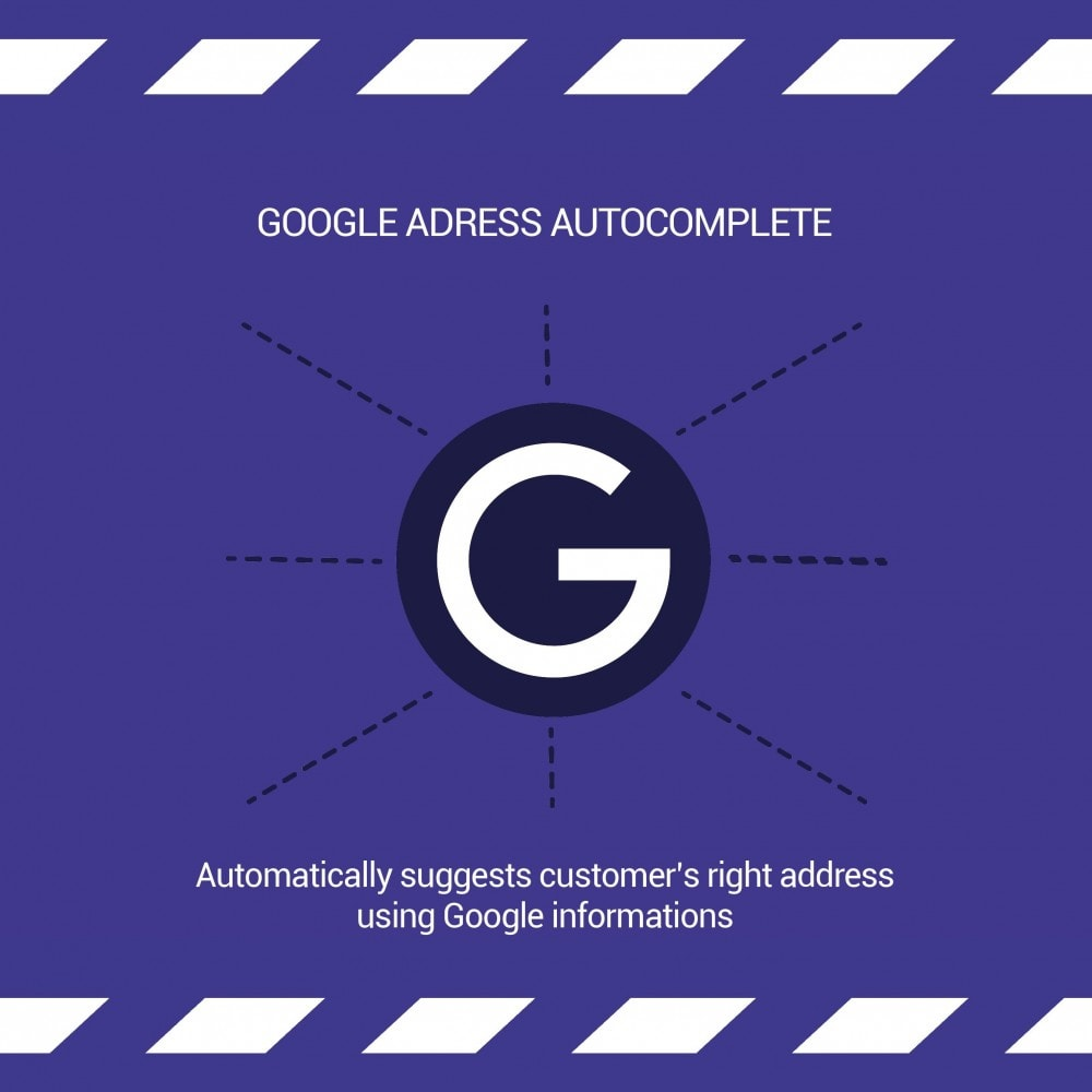 module - Registration & Ordering Process - Google Address Autocomplete - 1