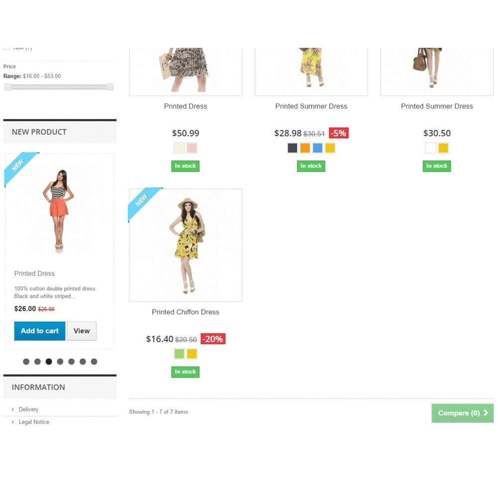 module - Producten op de homepagina - Responsive Carousel with New Products - 3