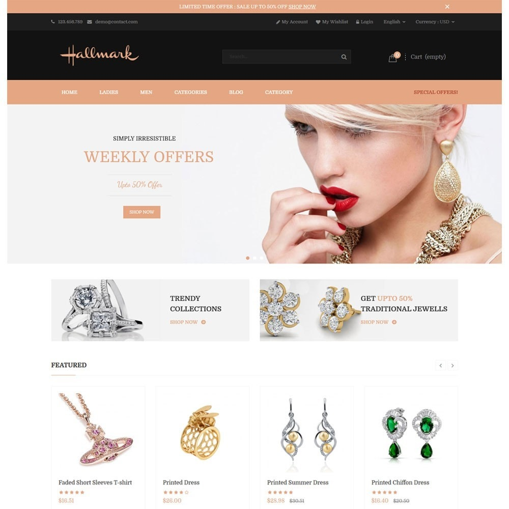 Hallmark Jewelry & Accessories
