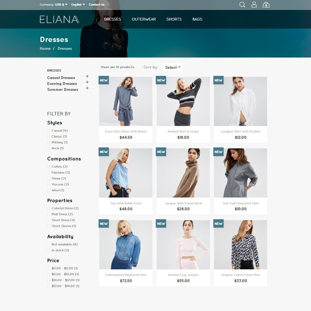 theme - Mode & Schoenen - Eliana Fashion Store - 4