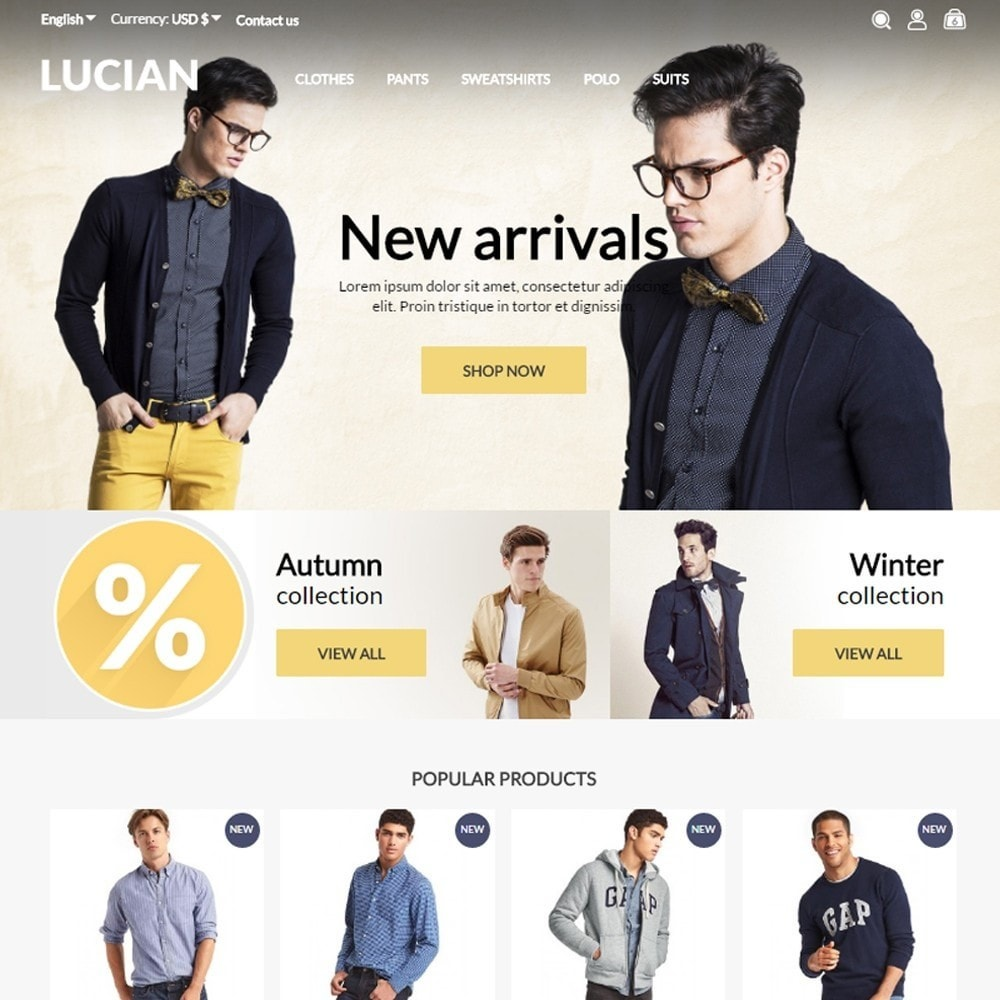 Lucian Men's Wear