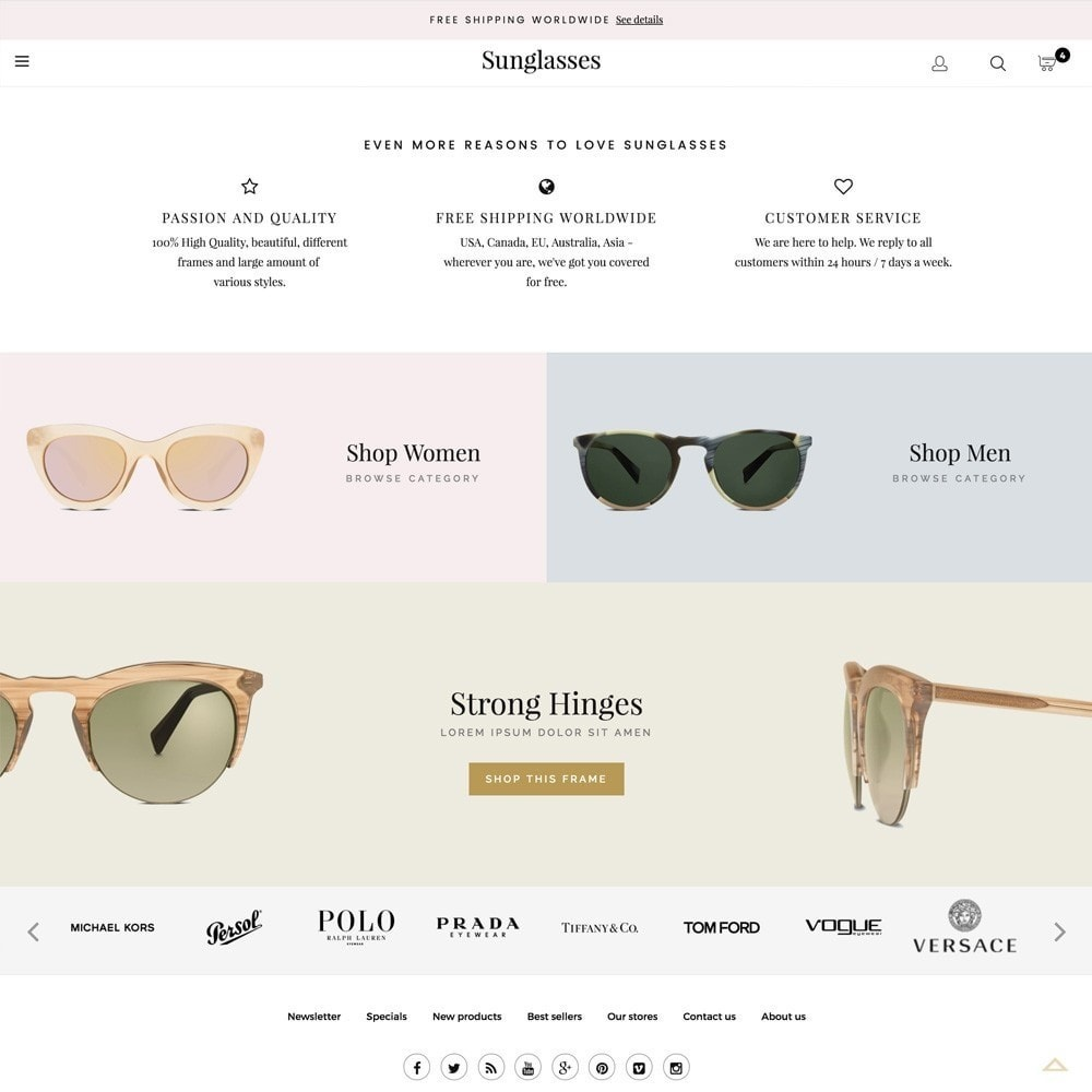 theme - Mode & Schoenen - Sunglasses - 4