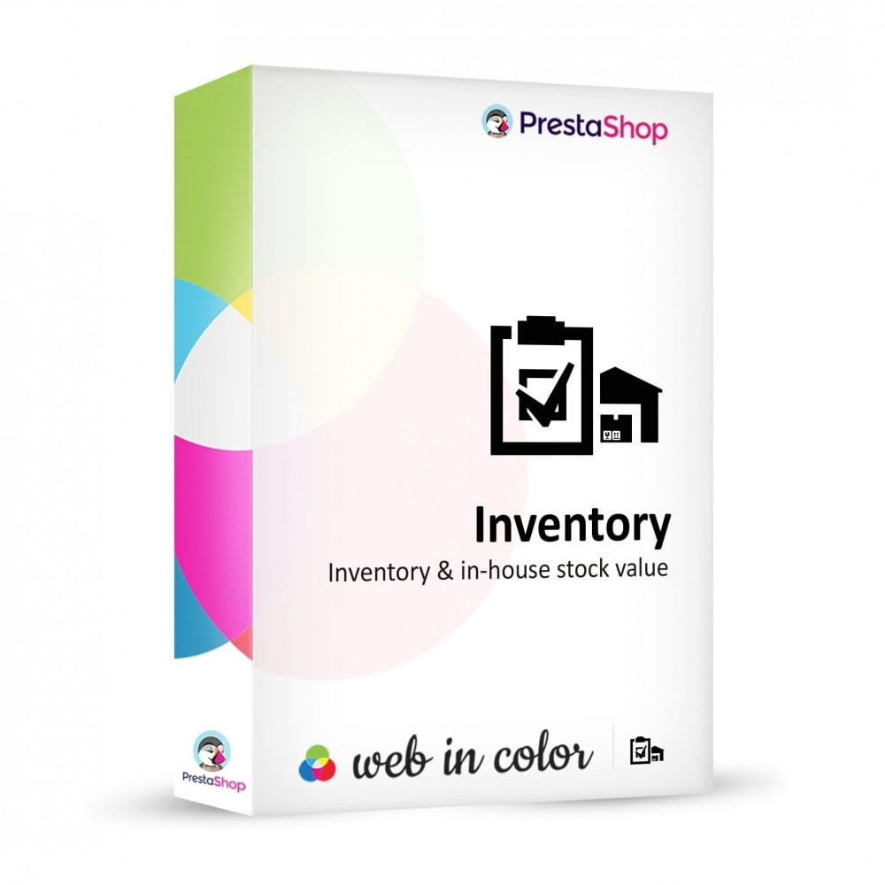 module - Stock & Leveranciersbeheer - Inventory (scan or input fields) - 1
