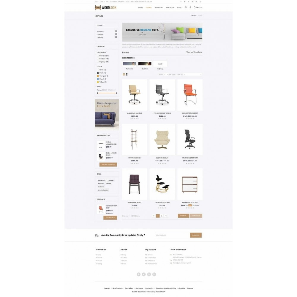 Woodlook Online Furniture Store