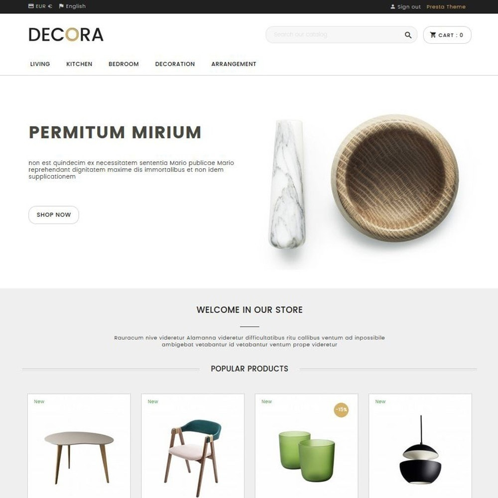 theme - Home & Garden - Decora - 1