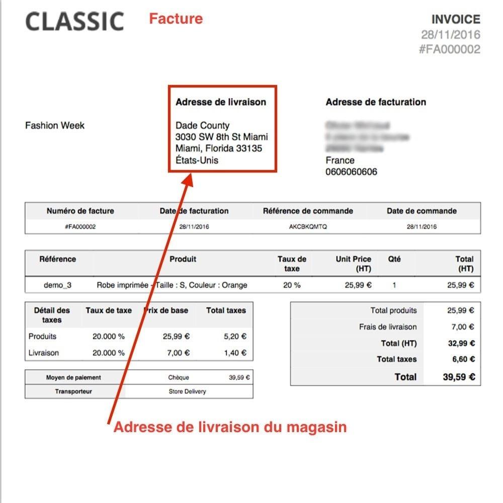 module - Point Relais & Retrait en Magasin - Livraison en magasin / Point de retrait - 4