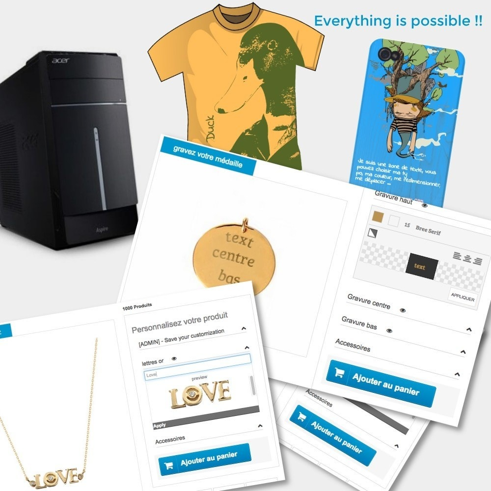 module - Вариаций и персонализации товаров - Product options and customization - 1