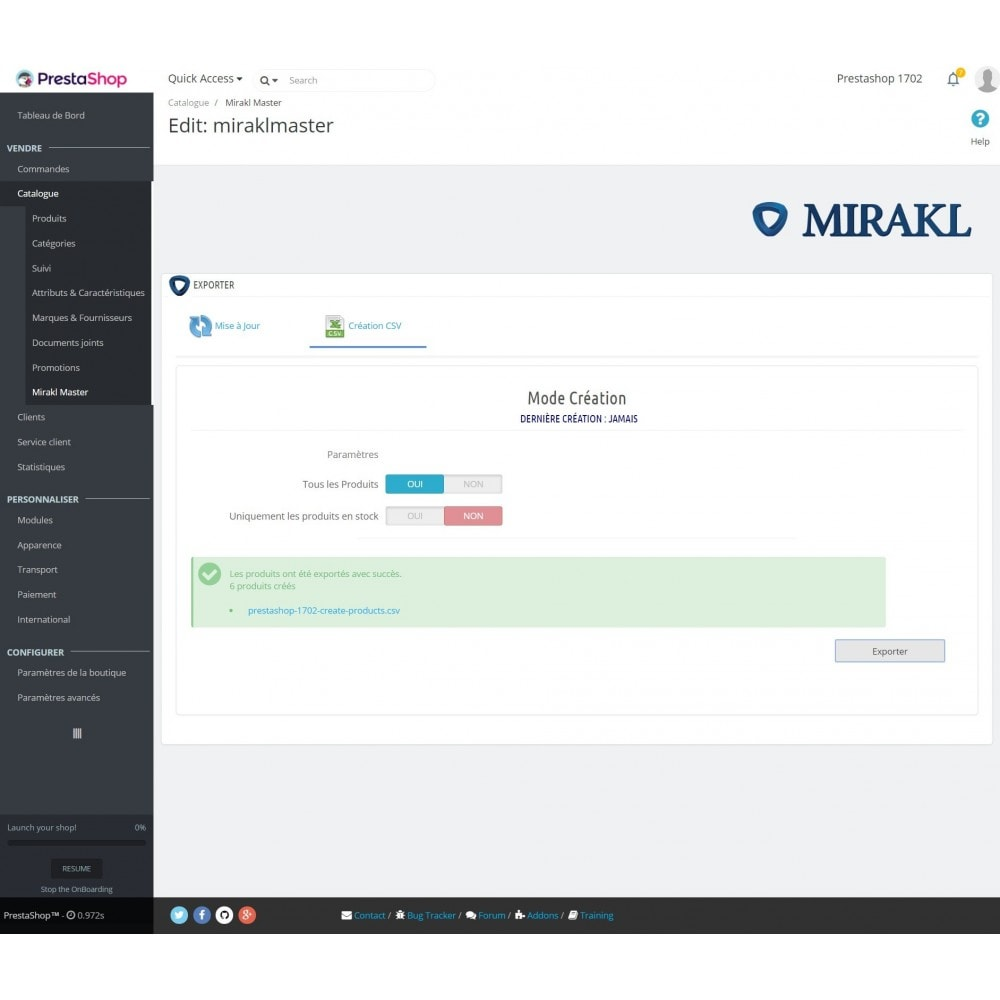 module - Trafic & Marketplaces - Mirakl - Connecteur multi-marketplaces - 8