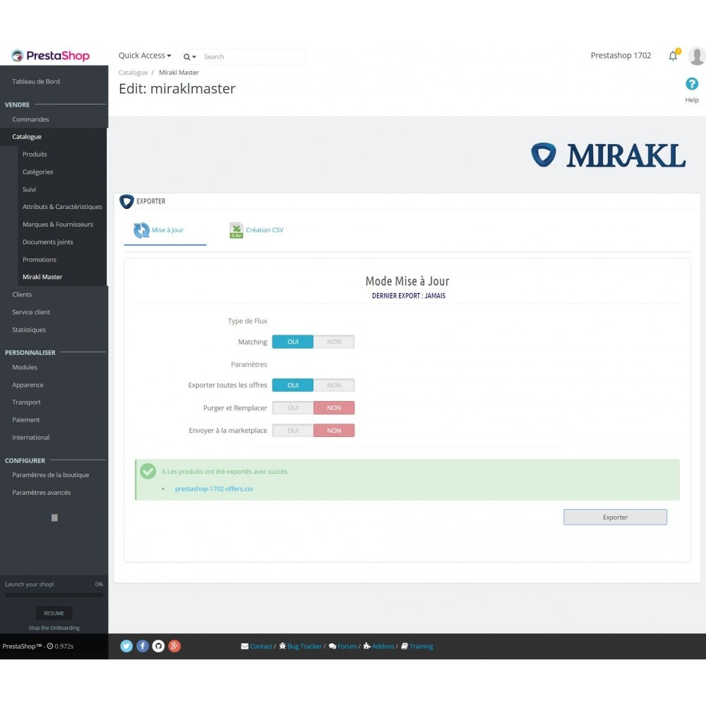 module - Trafic & Marketplaces - Mirakl - Connecteur multi-marketplaces - 9