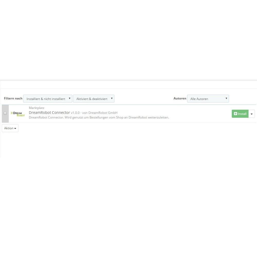 module - Datenabbindungen zu Drittsystemen (CRM, ERP, ...) - DreamRobot Connector - 3