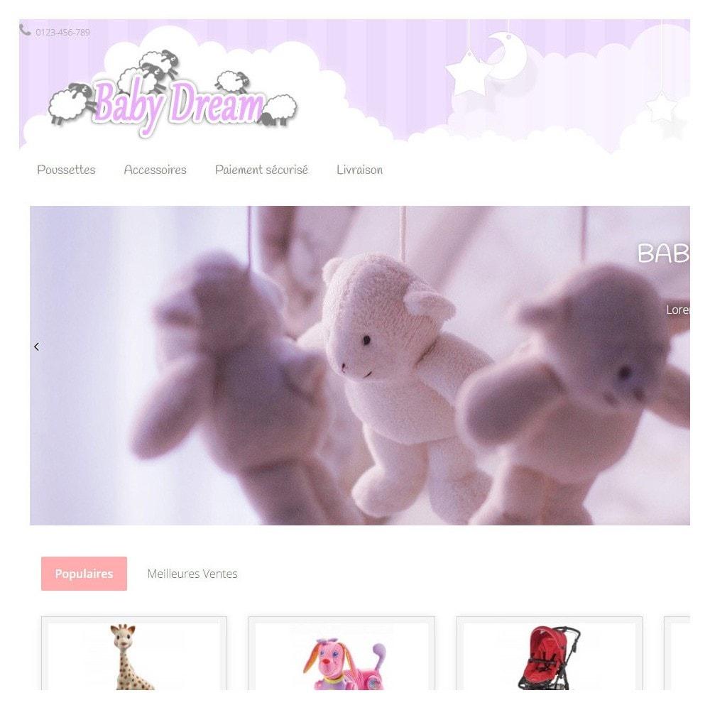 theme - Enfants & Jouets - Baby Dream ( puériculture ) - 3