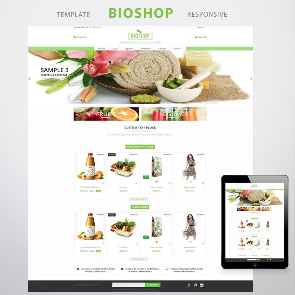 theme - Salute & Bellezza - Bioshop - 1