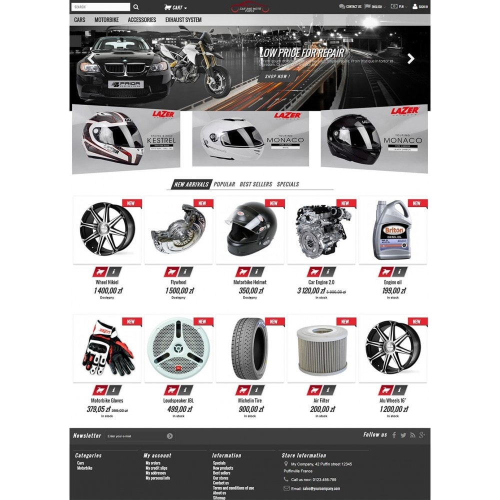 theme - Auto & Moto - Car Parts - 2