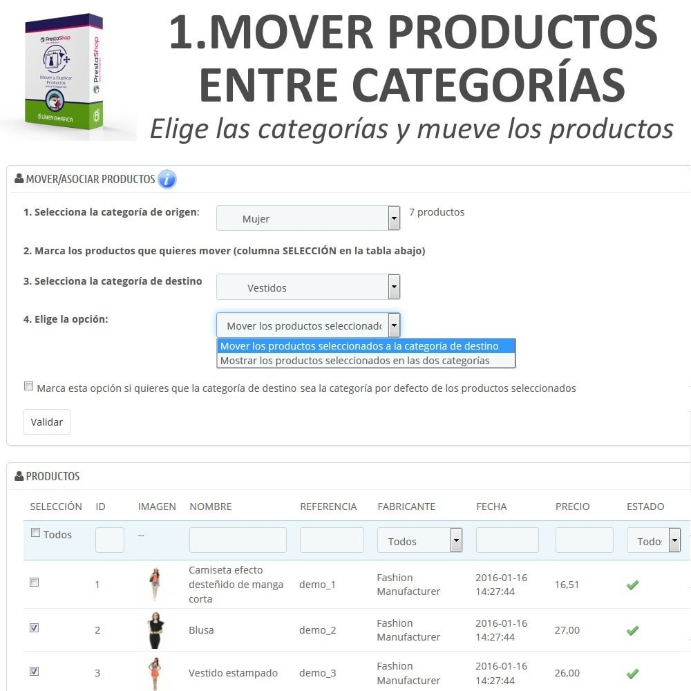 pack - Edición Rápida y Masiva - Ahorro de Tiempo - Edición Rápida / Masiva - 3 Módulos - 2