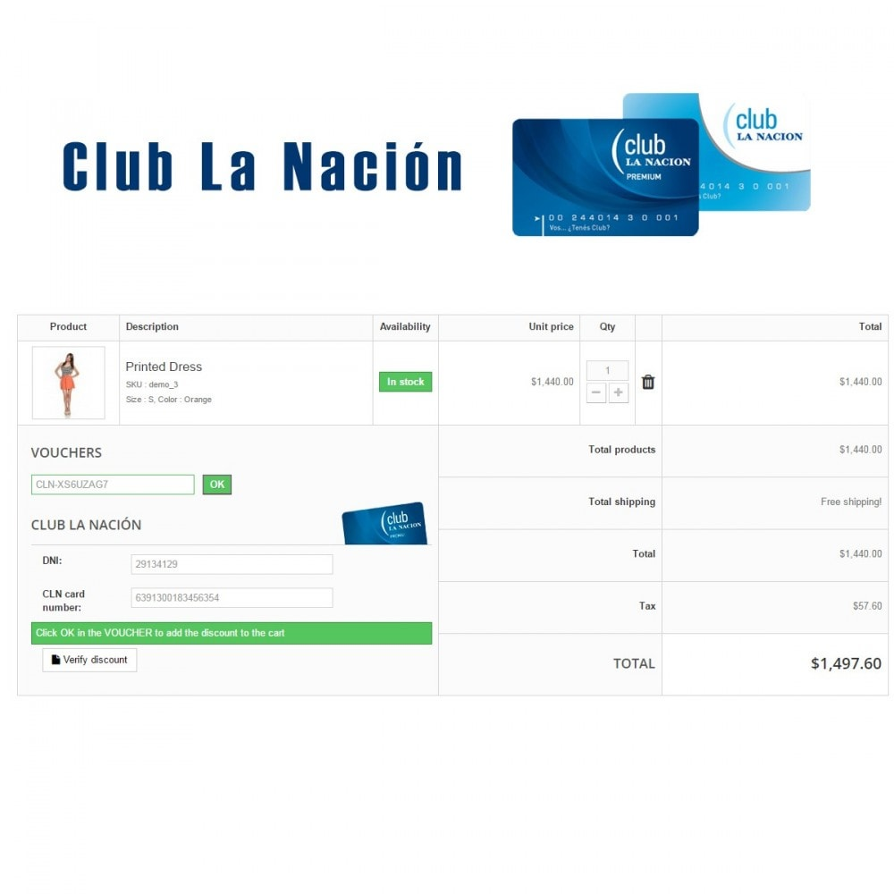 module - Empfehlungs- & Kundenbindungsprogramme - Club La Nación - 1