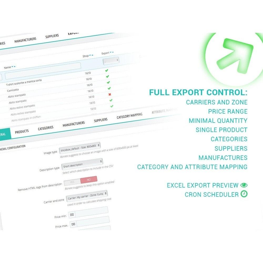 module - Preisvergleiche - Bizrate - Export + Erweiterte Filter - 1