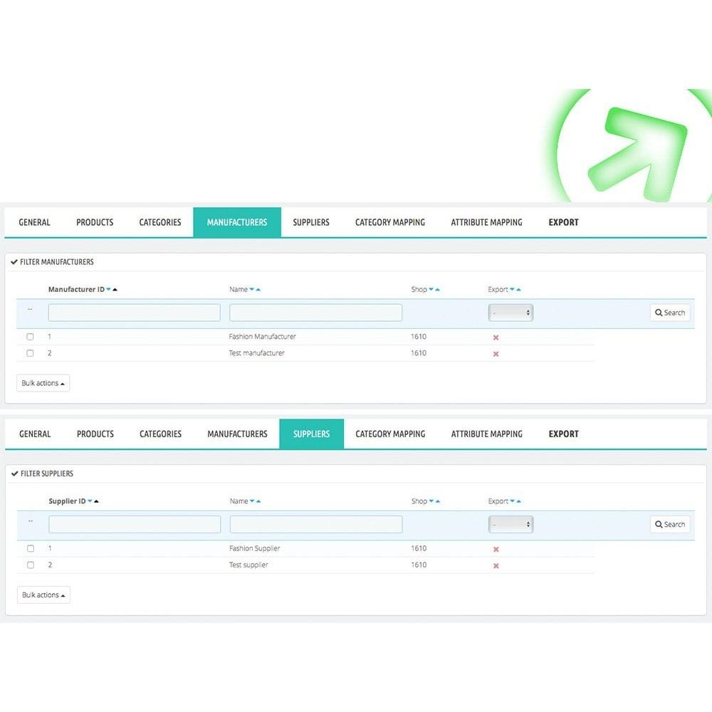 module - Preisvergleiche - Bizrate - Export + Erweiterte Filter - 4