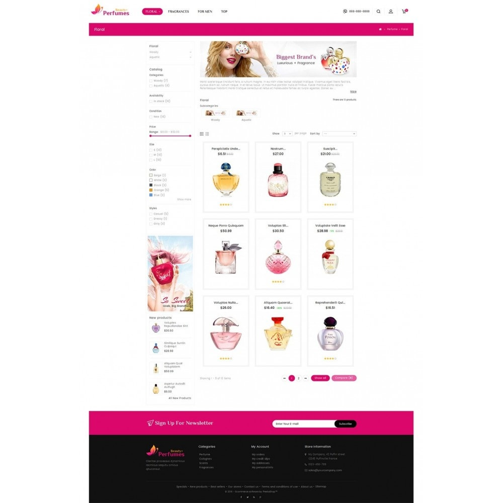 theme - Health & Beauty - Beauty Perfume Store - 3