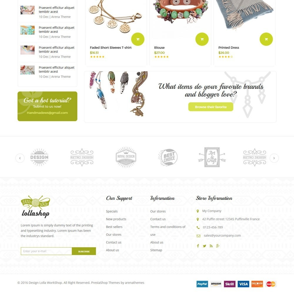 theme - Prezenty, Kwiaty & Uroczystości - Lolla Giftshop Handmade - 4