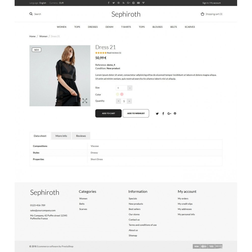 theme - Мода и обувь - Sephiroth  Women's Clothing - 7