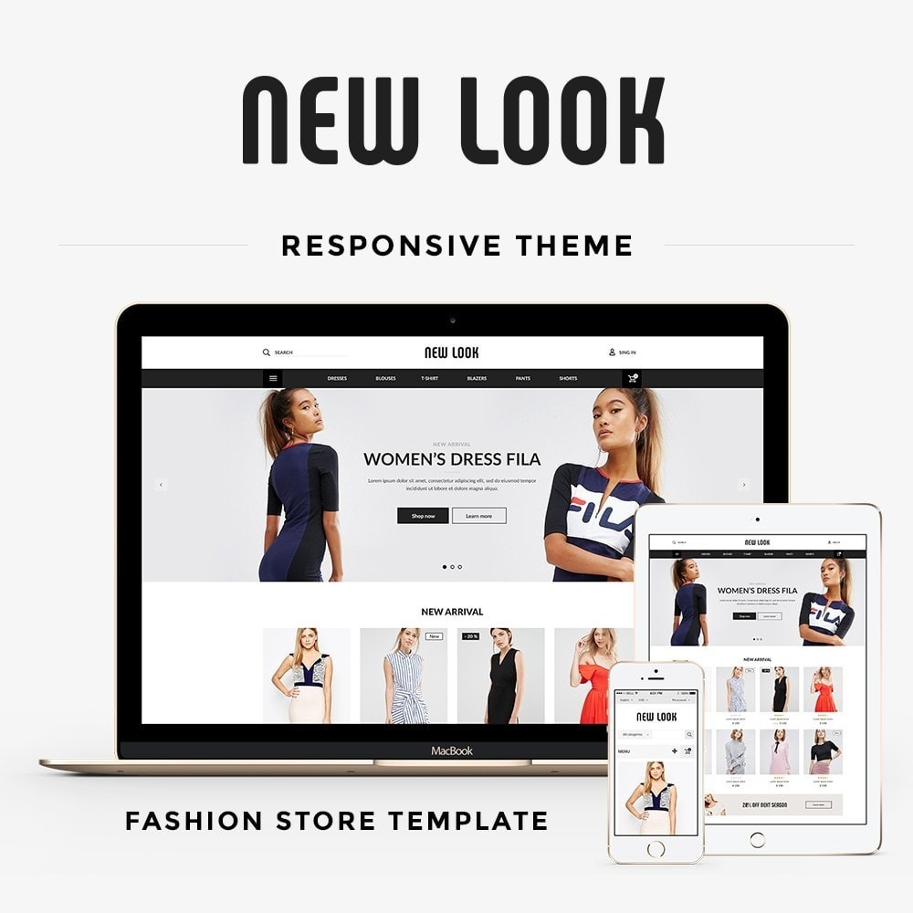 theme - Moda & Calzature - New look  Fashion Store - 1