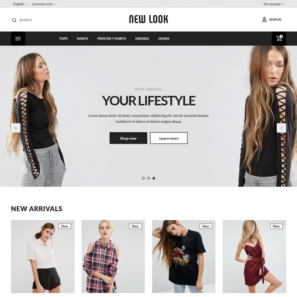 theme - Mode & Schoenen - New look  Fashion Store - 2