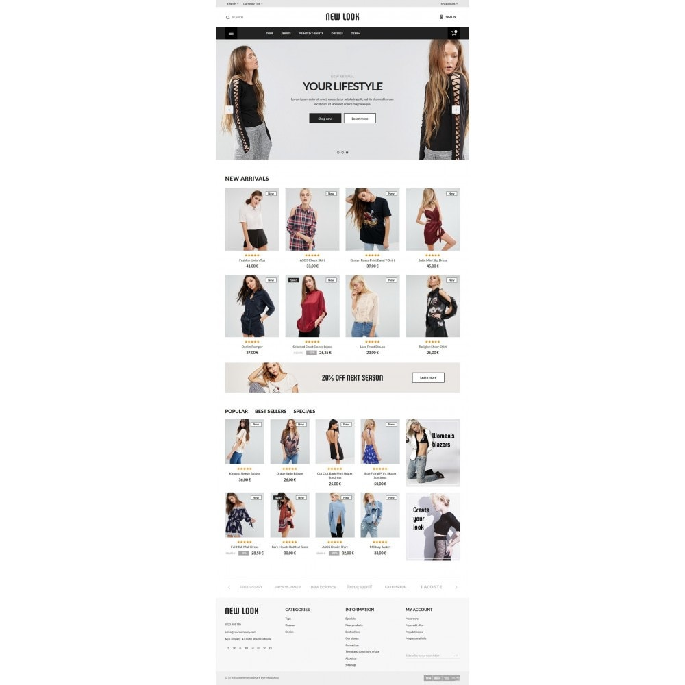 theme - Moda & Calzature - New look  Fashion Store - 10