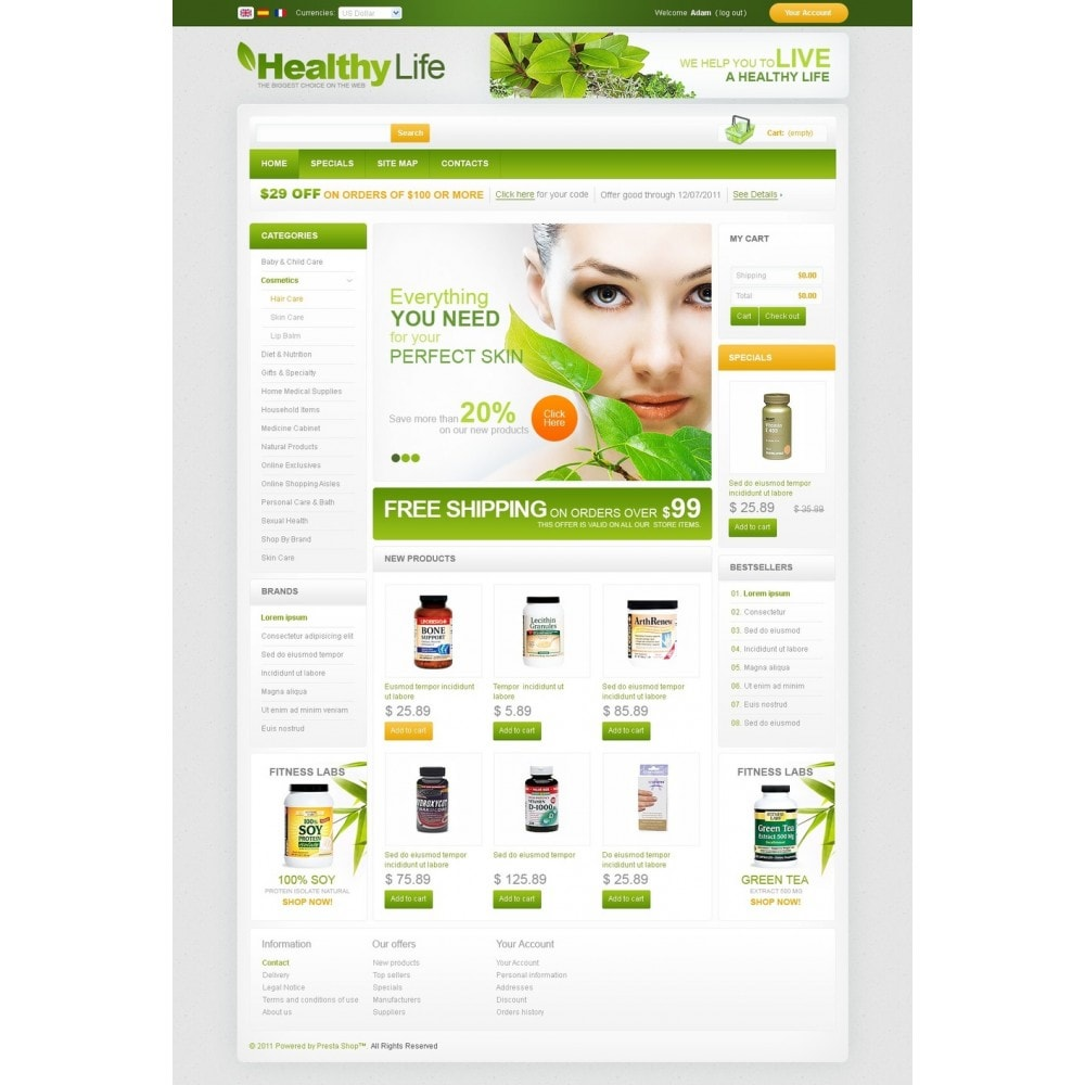 theme - Health & Beauty - Pharmacy - 4