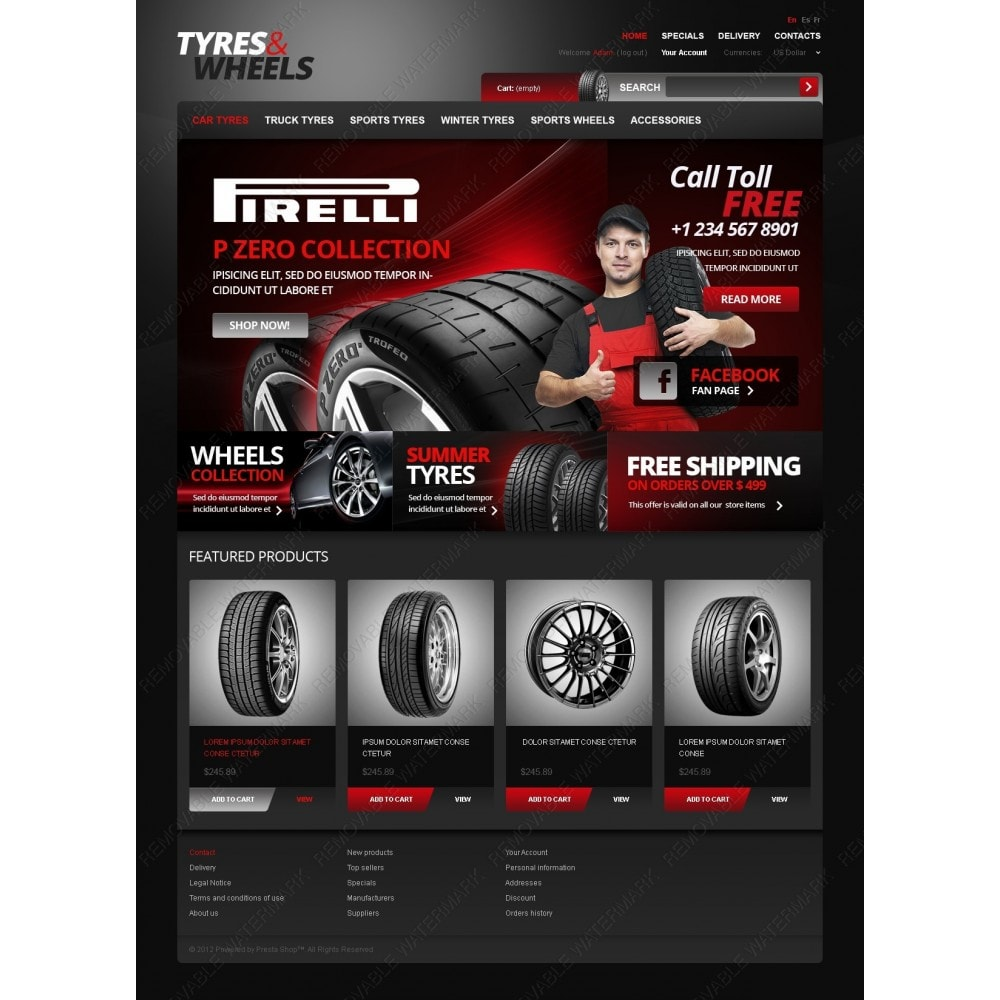 theme - Auto & Moto - Footwear for Your Car - 6