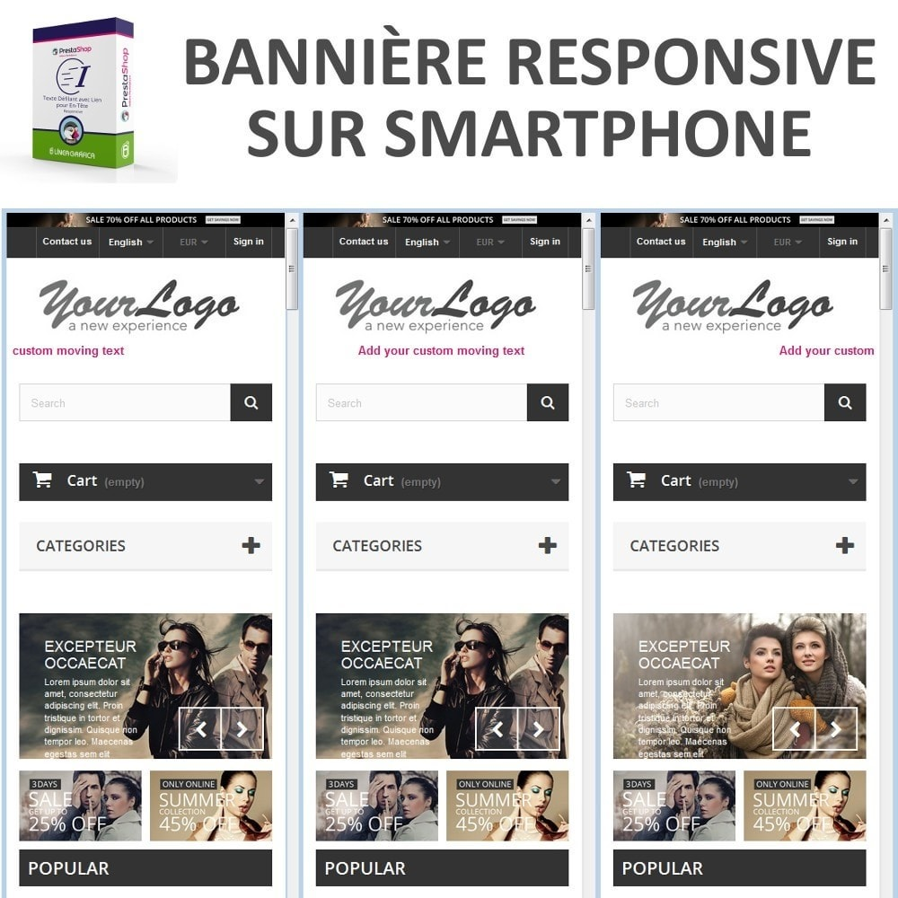bundle - Avis clients - Confiance - Rassurez vos Clients - 3 Modules - 9