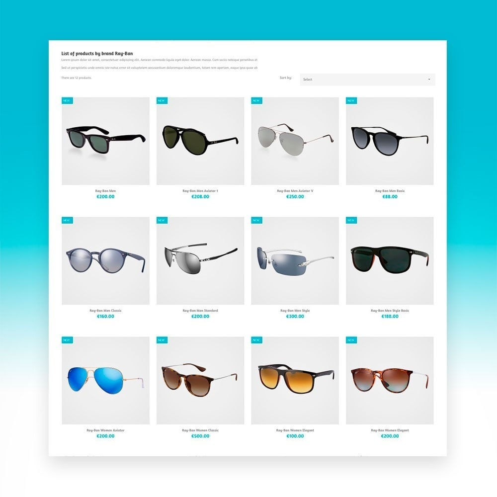 theme - Mode & Schoenen - CF Sunglasses N - 4