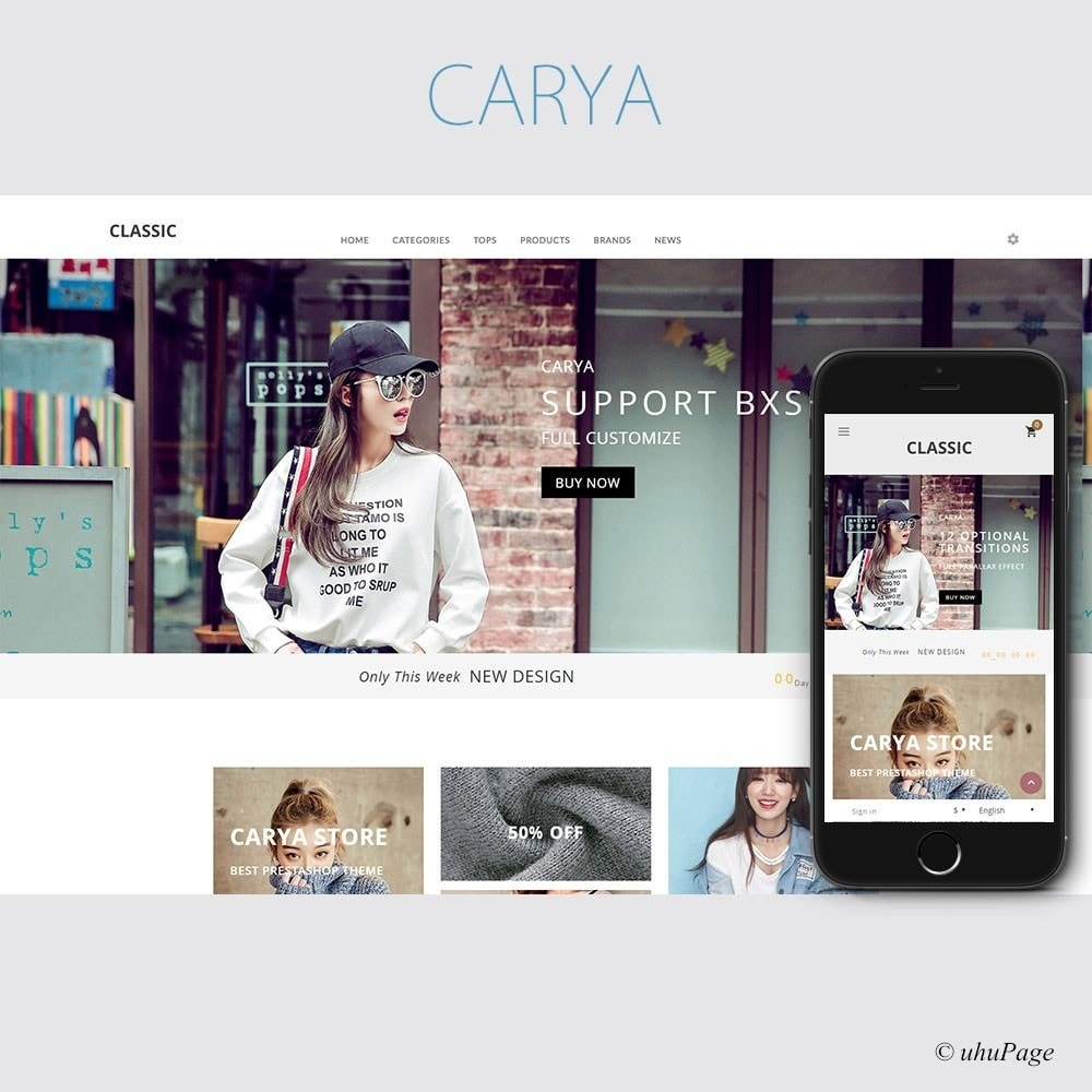 theme - Mode & Chaussures - Carya Fashion Store - 1